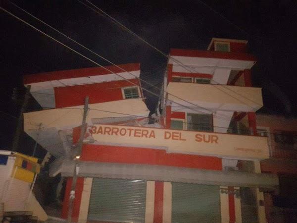 IMPACTANTES FOTOS del terremoto que sacudió a Juchitán, Oaxaca
