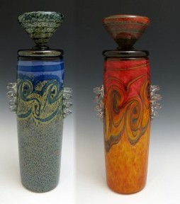 Blown glass made in isa