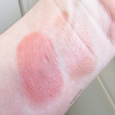 beauty for real coral swatch - the beauty puff