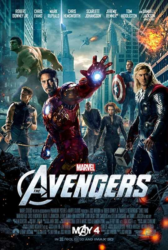 The Avengers 2012 720p x264 Esub BluRay  Dual Audio English Hindi GOPISAHI