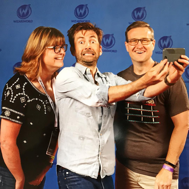 David Tennant at Wizard World Columbus fan convention - 5th August 2017