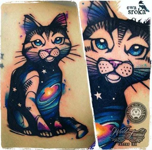 Este galáctico kitty