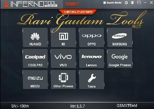 InfernoTool UniTool v1 5 7 Cracked Ravi Gautam Tools