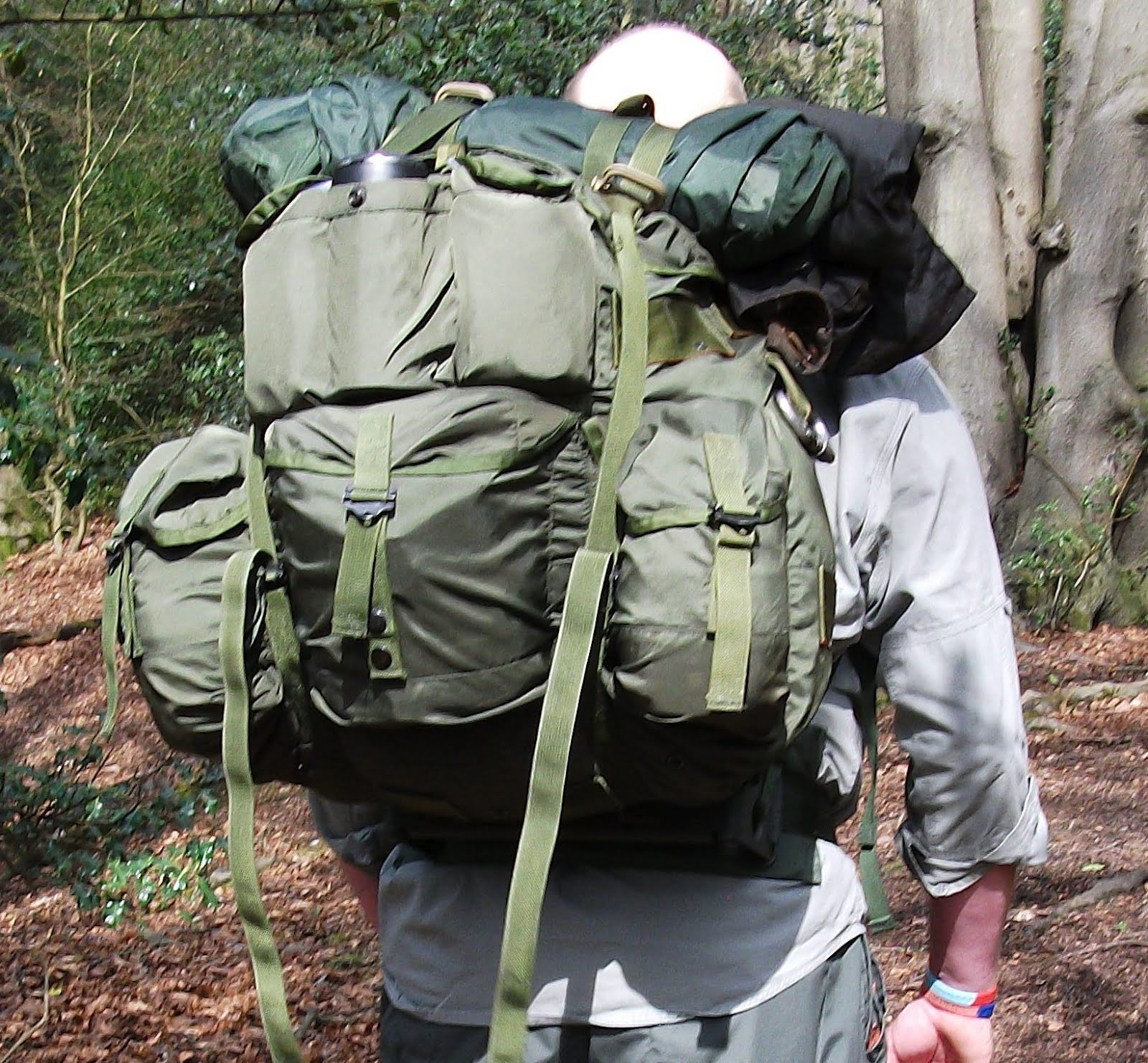 Man Off The Mountain Us Army Large Alice Pack