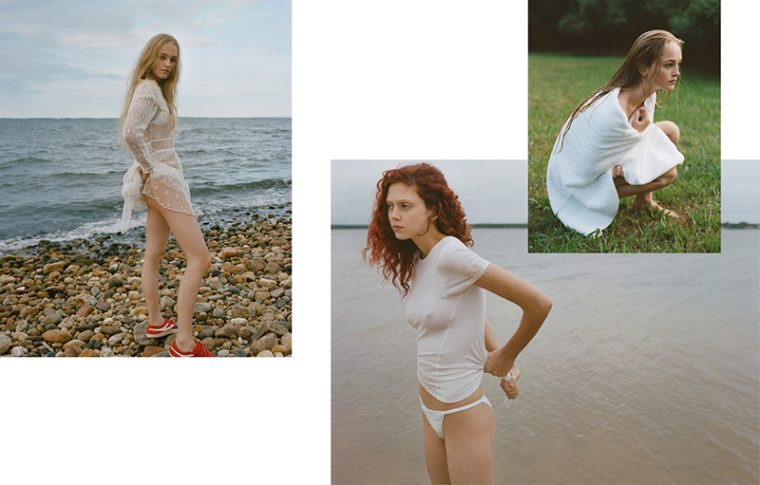 Jean Campbell & Natalie Westling by Theo Wenner for The Last Magazine Fall 2016