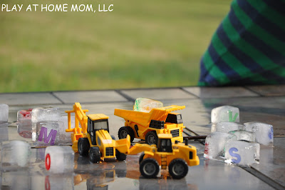Play At Home Mom Llc Alphabet Blocks Of Ice