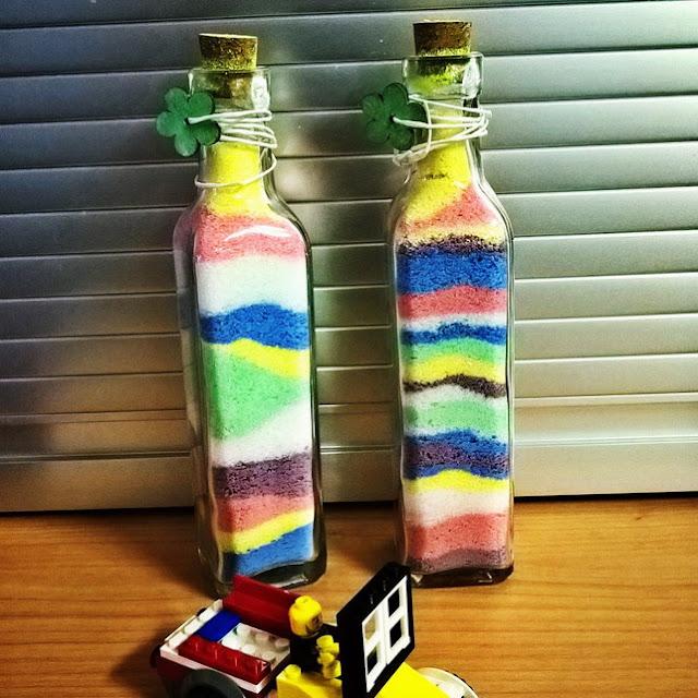 giocare con i colori arcobaleno