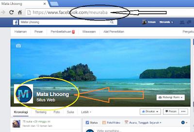 Cara merubah url fanpage facebook