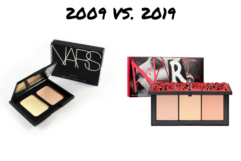 ten years challenge makeup industry then and now 2009 versus 2019 year