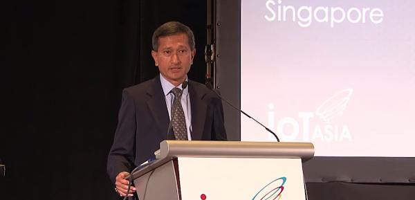 新加坡外交部長暨智慧國家專案主席維文博士Dr Vivian Balakrishnan