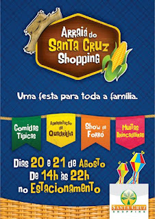 Santa Cruz Shopping promove festa agostina no fim de semana