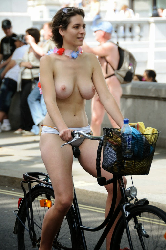 Women Riding Bicycles Nude 96