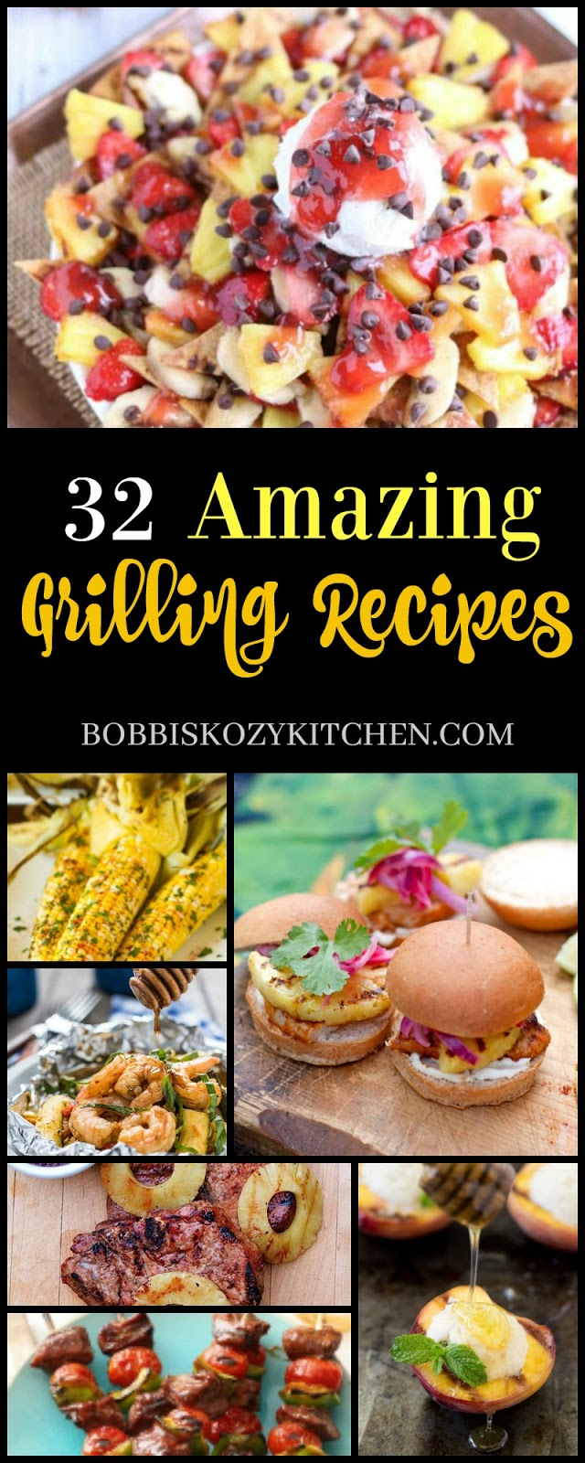 32 Amazing Fall Designed Nail Art That Will Make You Stunned: 32 Amazing Grilling Recipes