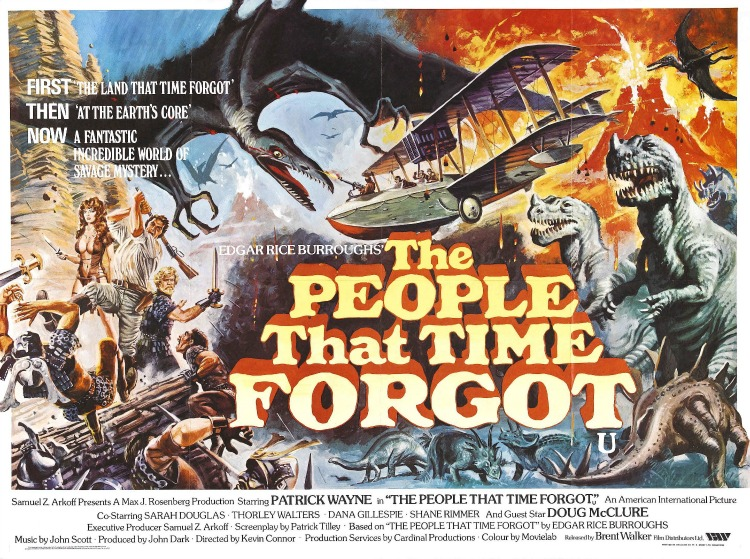 A Vintage Nerd, Classic Film Blog, Classic Film Recommendations, The People That Time Forgot