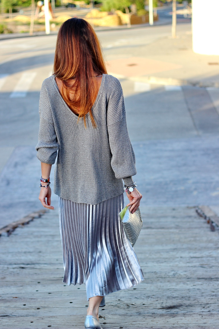 mariamainez, streetstyle, blogger, fashion, silver