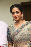 Sri Devi in designer saree stunning beauty at the launch of MOM movie Trailer~  Exclusive 142.JPG