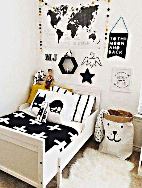 Desain Kamar Tidur Anak Laki-Laki Ukuran Kecil
