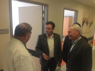 ΔΕΛΤΙΟ ΤΥΠΟΥ:Συνάντηση του Αντιπροέδρου των ΑΝΕΛ Π. Σγουρίδη με τον Διοικητή του Νοσοκομείου Κατερίνης . «Αισθανόμαστε δικαιωμένοι με την επιλογή»