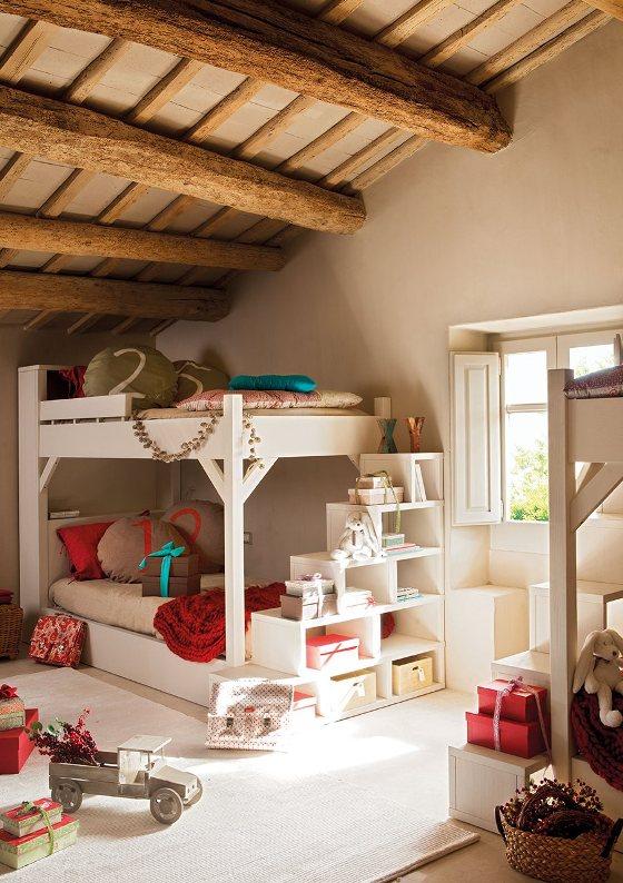 decorar una habitacion infantil de navidad chicanddeco blog