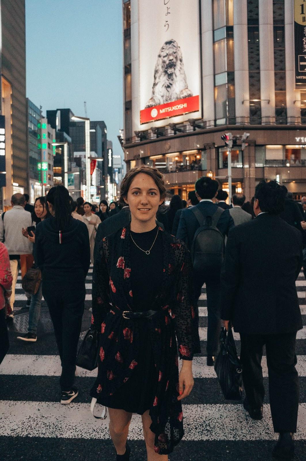 Grey Suede Tokyo Japan