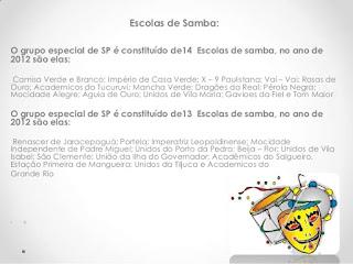 Escolas de Samba