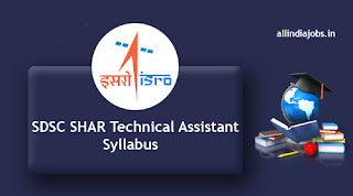 SDSC SHAR Technical Assistant Syllabus