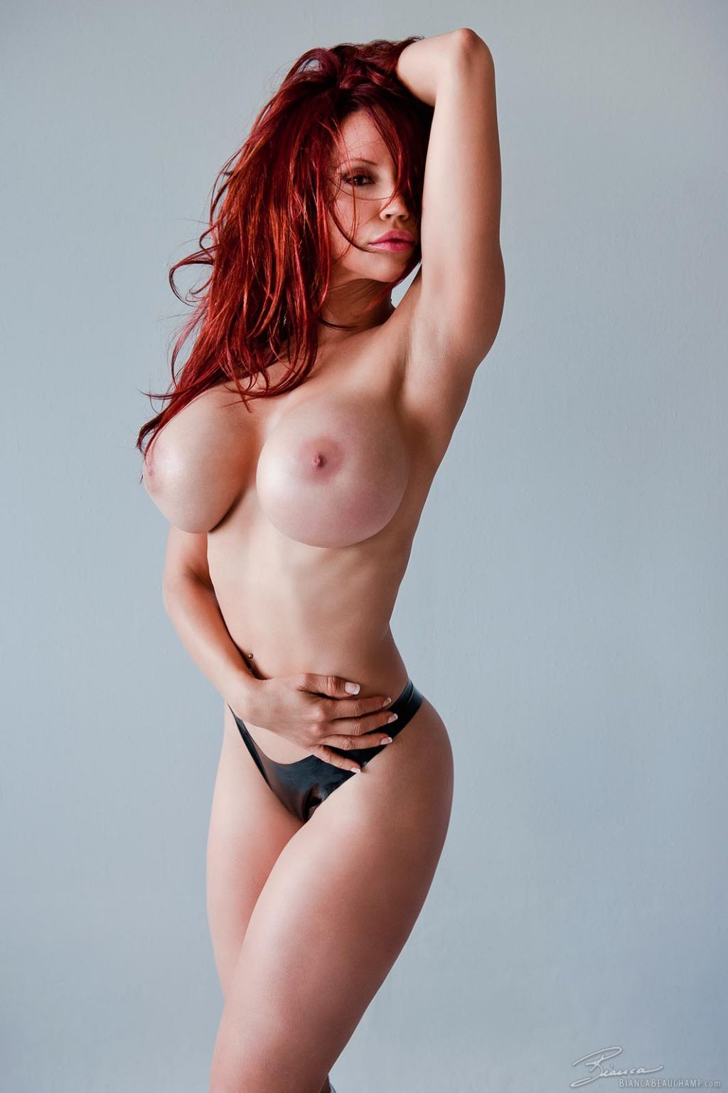 Bianca Beauchamp without Cosplay