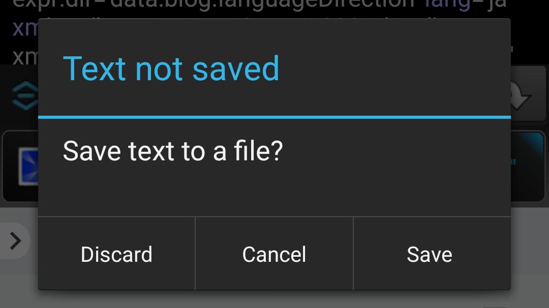 WebMaster's HTML Editor Liteのファイルを変更する際の選択肢
