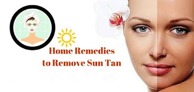 Home remedies to remove suntan naturally