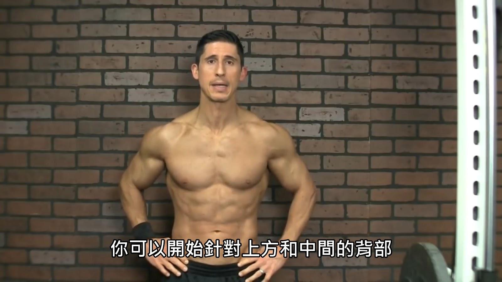 Fitting Room TW: 鍛鍊上背和斜方肌的訓練動作 (中文字幕)