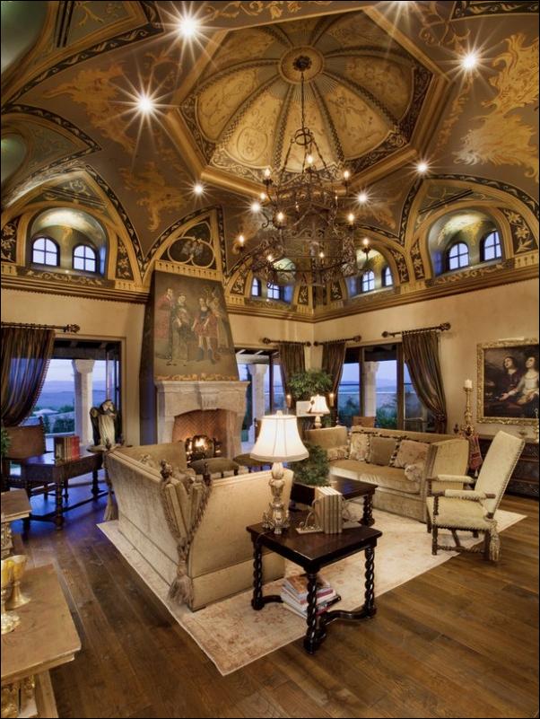 Old World Living Room Design Ideas | Room Design Inspirations