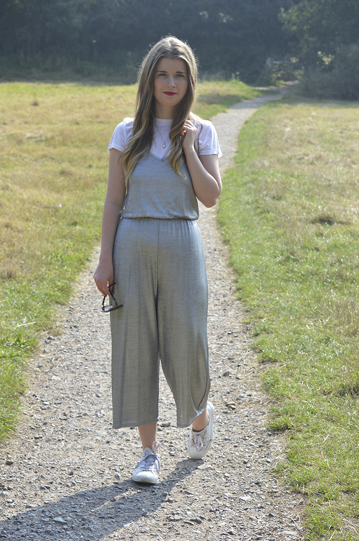 primark metallic jumpsuit fashion bloggers