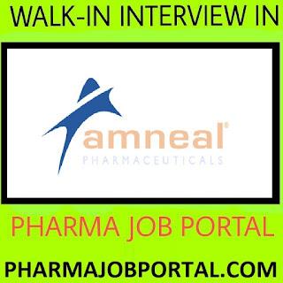 Amneal Pharmaceuticals Urgent Requirement For Multiple Positions - ITI, Diploma, D.Pharm, B.Pharm, M.Pharm, B.Sc -  Apply Now