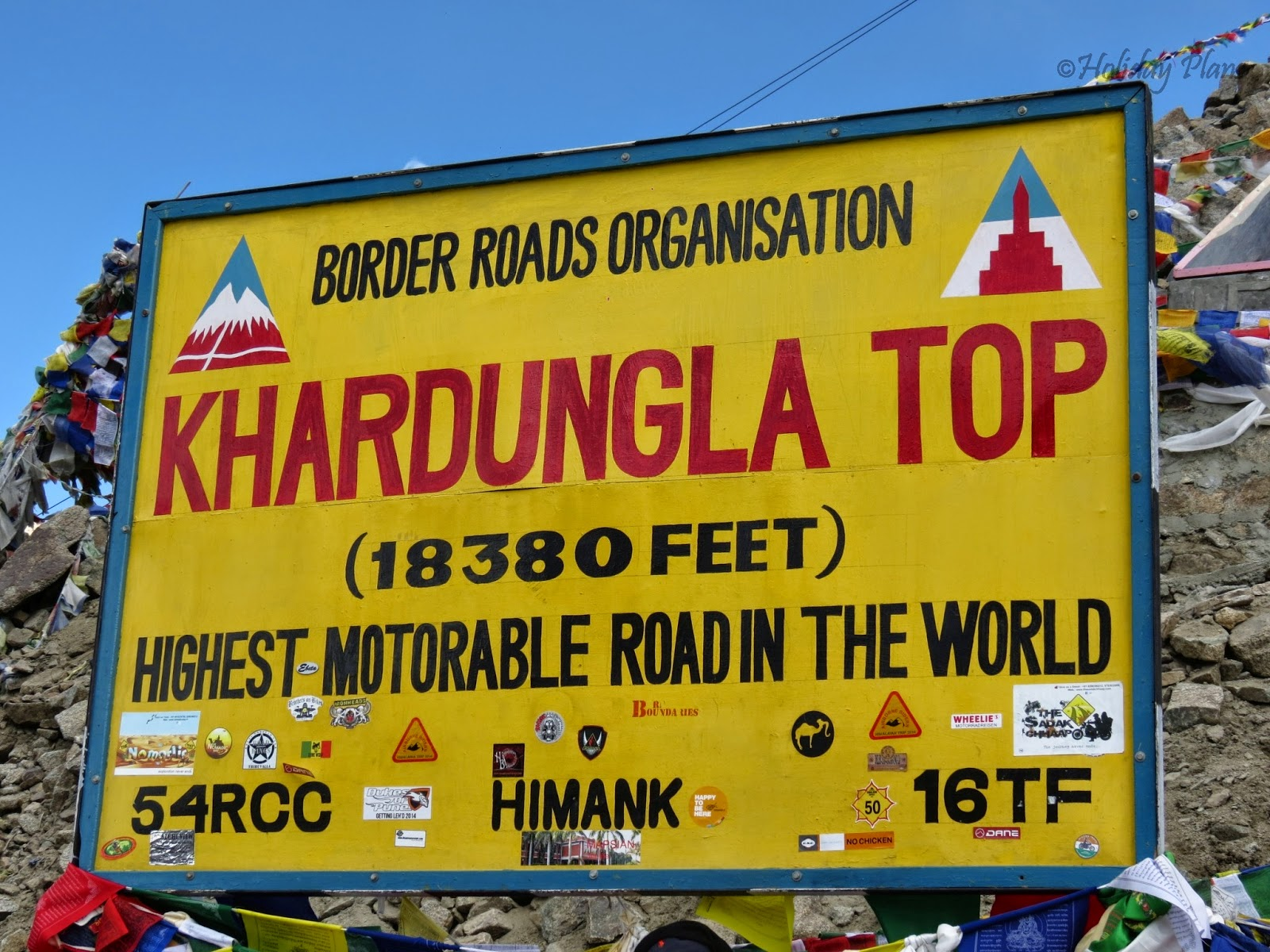 Welcome to Khardung La