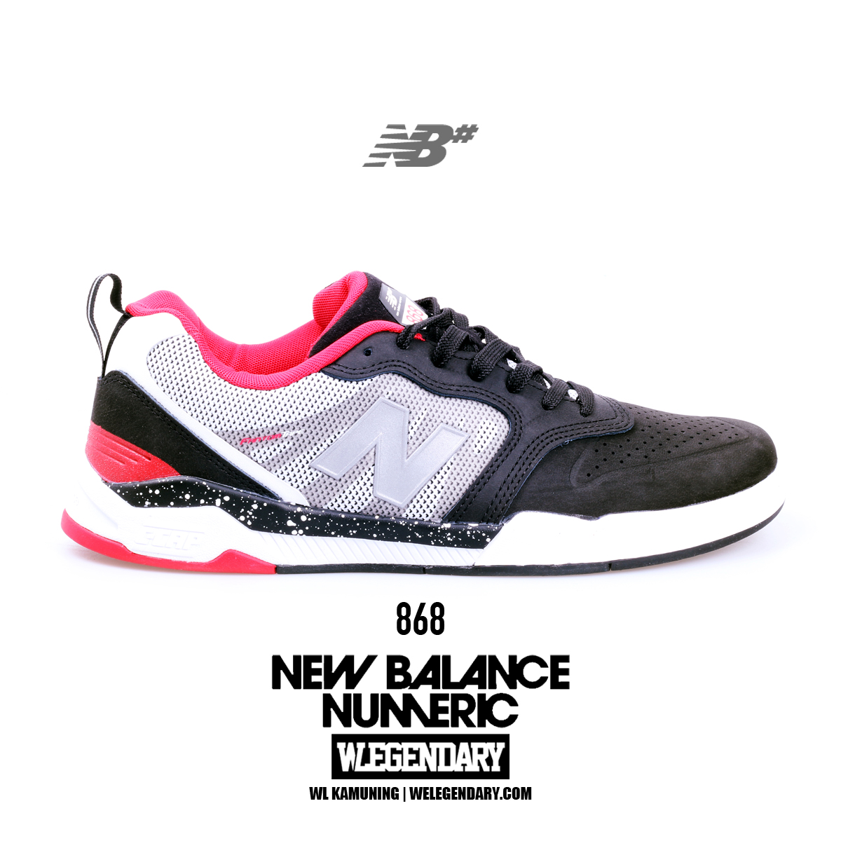 1db8a76b48b0 Numeric shoes blend skateboarding tech with the heritage and quality that  New Balance is famous for. From low-top to mid-top and court-inspired  styles