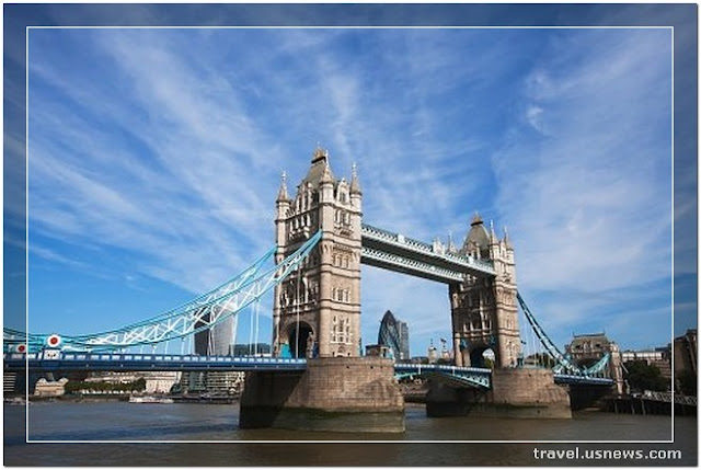 Tower Bridge  - Top 7 Best Places to Travel in London, England at Least Once in Your Life Time