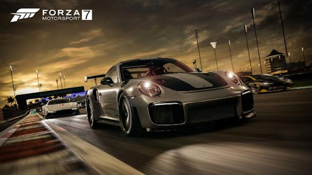 Forza Motorsport 7 Porsche 911 GT2 RS - Fond d'Écran en HD