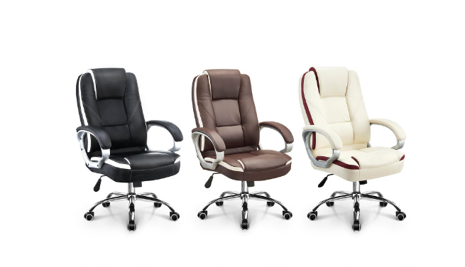 Neo Chair Executive Office Chair High Back PU Leather Desk Computer Task house Chair