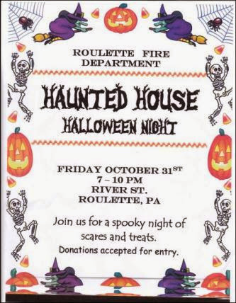 10-31 Haunted House Roulette Fire Dept