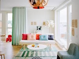 sala decorada tonos pastel
