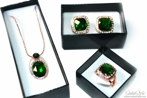Emerald Icon set by Catwalk Glamour