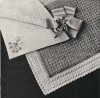 Easy Crochet Baby Blanket Pattern, Seed Stitched