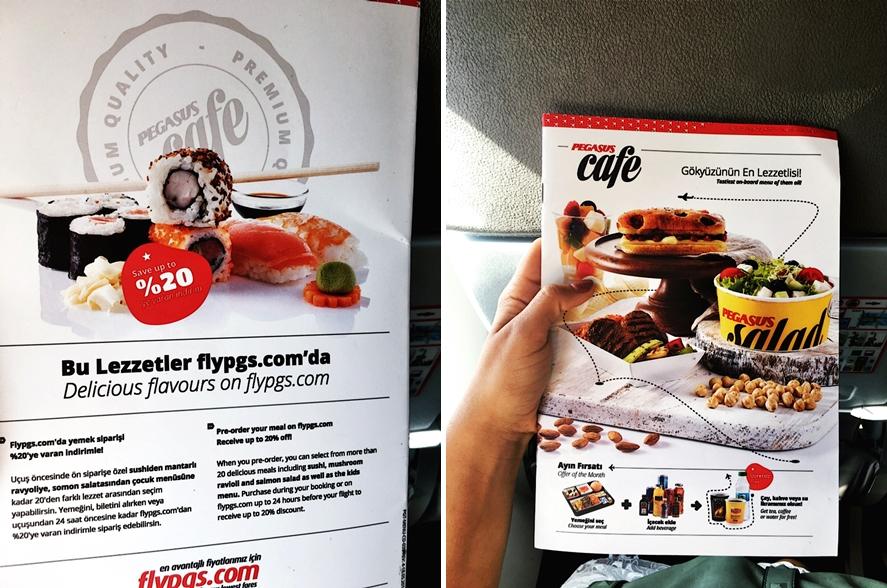 boardmagazin essen flugzeug sushi