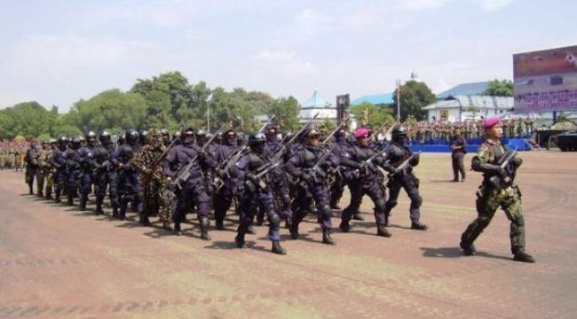 Pasukan khusus TNI AL Detasemen Jala Mangkara (Denjaka)
