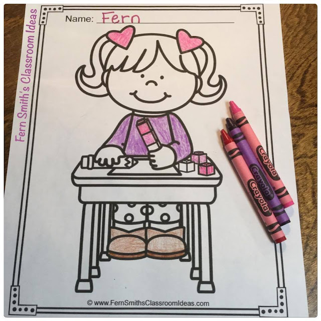 Fern Smith's Classroom Ideas Color For Fun St. Valentine's Day Coloring Pages Bundle For Home or School at TeacherspayTeachers.