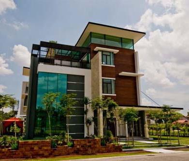 desain rumah minimalis modern dengan rooftop - inspirasi