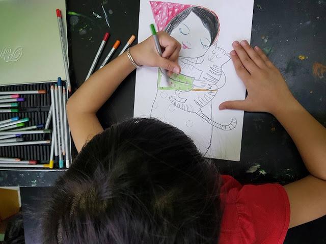Cho con học vẽ mang lại lợi ích gì, học vẽ ở đâu tốt?