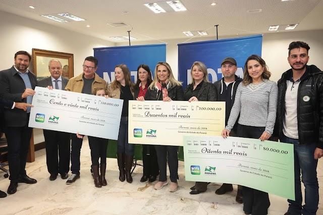 Mãe Colombense ganha 200 mil reais no programa Nota Paraná