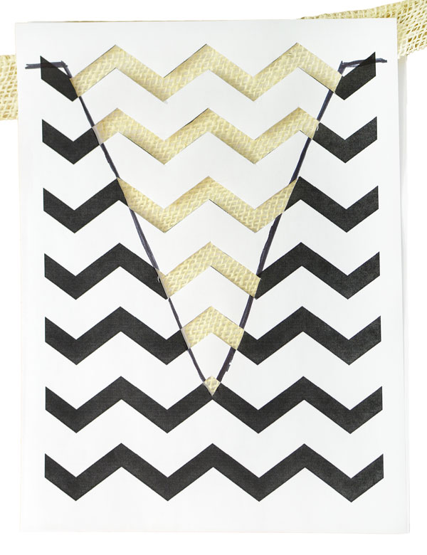 picture about Free Printable Chevron Pattern named Get together Designs through Mardi Gras Outlet: Chevron Behavior Stencil