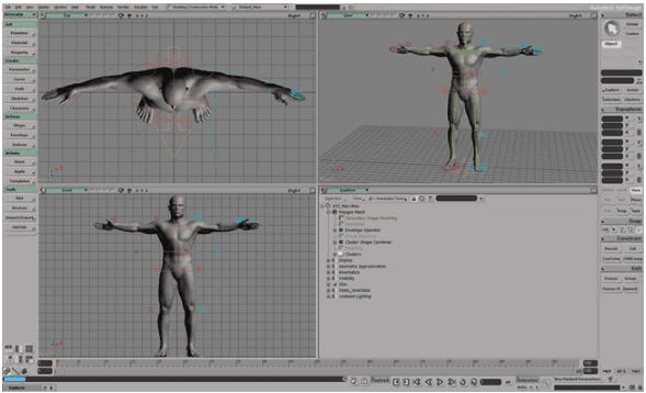 Aplikasi Animasi AutoDesk Softimage